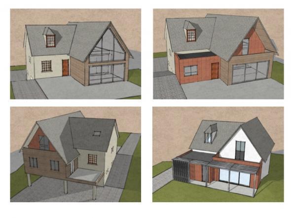 Projet d 39 agrandissement d 39 un pavillon dans le val d 39 oise - Agrandissement pavillon ...